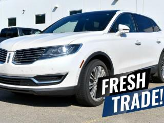 Used 2017 Lincoln MKX RESERVE AWD / HEATED & COOLED FRONT SEATS / HEATED BACK SEATS / HEATED STEERING WHEEL / NAVIGATION / REMOTE START / BACKUP CAMERA & MORE!! for sale in Red Deer, AB