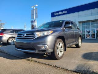 Used 2013 Toyota Highlander LTD NAV/7PASS/LEATHER/SUNROOF/HEATEDSEATS/BACKUPCAM for sale in Edmonton, AB