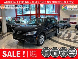 Used 2020 Volkswagen Tiguan Trendline 4MOTION - No Accident / One Owner / No Dealer Fees for sale in Richmond, BC
