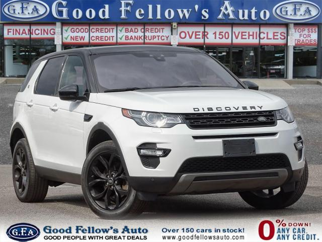 2018 Land Rover Discovery Sport HSE MODEL, LEATHER SEATS, PAN ROOF, HEATED SEATS Photo1
