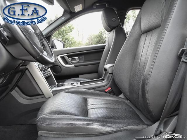 2018 Land Rover Discovery Sport HSE MODEL, LEATHER SEATS, PAN ROOF, HEATED SEATS Photo8