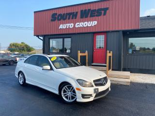 Used 2013 Mercedes-Benz C-Class C 300 4MATIC|Navi|Htd Lthr Seats|Sunroof|Bluetooth for sale in London, ON