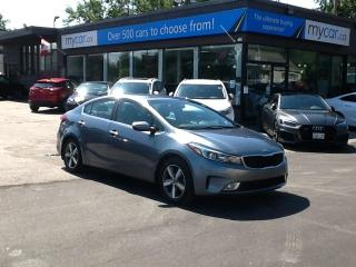 Used 2018 Kia Forte EX BACKUP CAM. HEATED SEATS. A/C. POWER GROUP. ALLOY! for sale in North Bay, ON