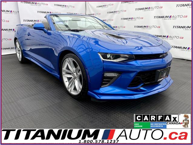 2017 Chevrolet Camaro 2SS+Convertible+Borla Exhaust+HUD+Cooled Leather