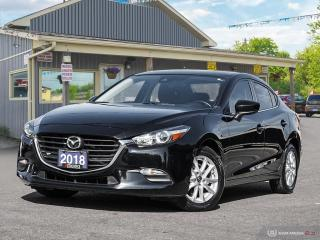 Used 2018 Mazda MAZDA3 GS AUTO, LOWKMS, R/V CAM, HEATED SEATS & S.WHEEL for sale in Orillia, ON