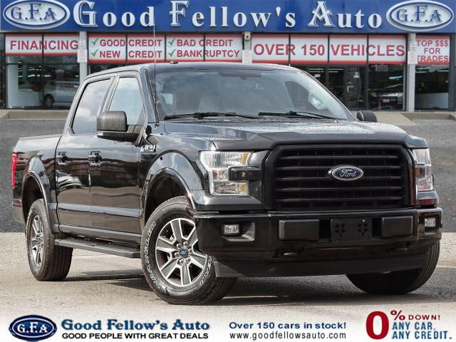 """2017 Ford F-150 SPORT SUPERCREW 145"""", 4WD, REARVIEW CAMERA, NAVI Photo1"""