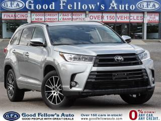Used 2018 Toyota Highlander SE MODEL, AWD, LEATHER SEATS, SUNROOF, NAVI, 7PASS for sale in Toronto, ON