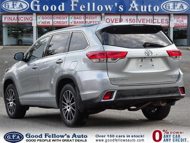2018 Toyota Highlander SE MODEL, AWD, LEATHER SEATS, SUNROOF, NAVI, 7PASS Photo5