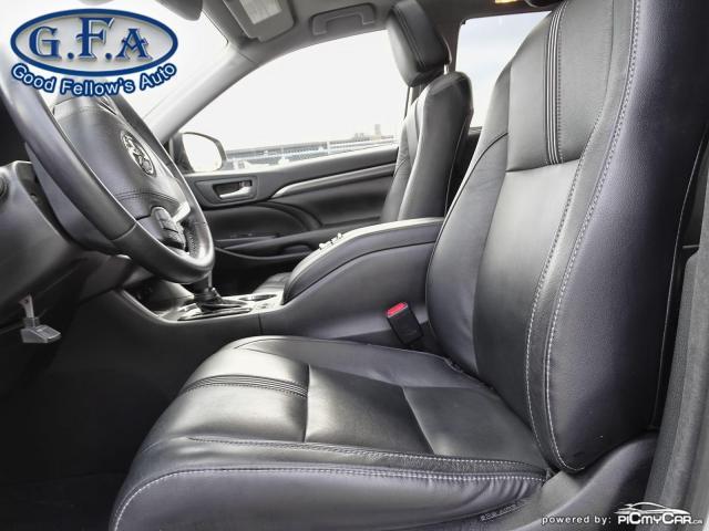 2018 Toyota Highlander SE MODEL, AWD, LEATHER SEATS, SUNROOF, NAVI, 7PASS Photo8