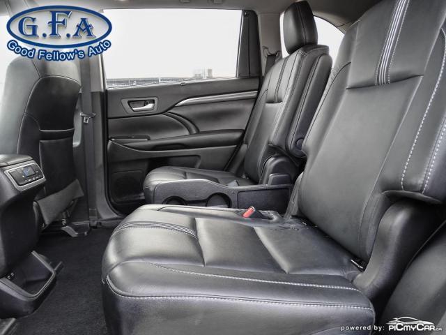 2018 Toyota Highlander SE MODEL, AWD, LEATHER SEATS, SUNROOF, NAVI, 7PASS Photo10
