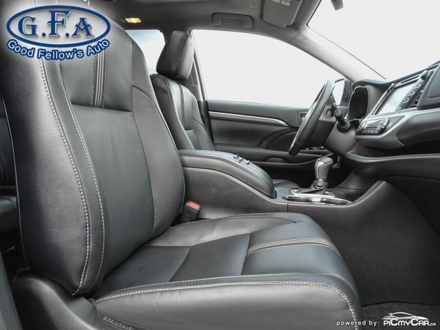 2018 Toyota Highlander SE MODEL, AWD, LEATHER SEATS, SUNROOF, NAVI, 7PASS Photo12