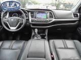 2018 Toyota Highlander SE MODEL, AWD, LEATHER SEATS, SUNROOF, NAVI, 7PASS Photo39