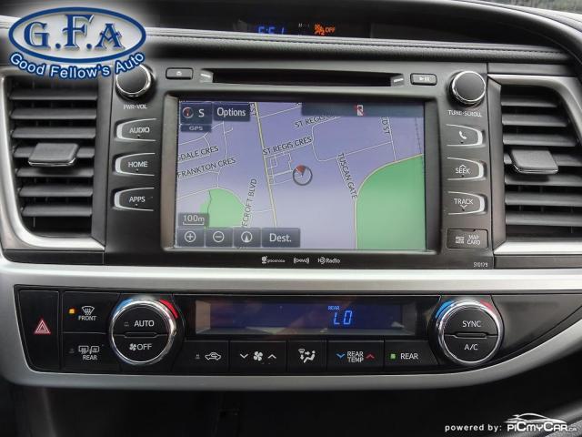 2018 Toyota Highlander SE MODEL, AWD, LEATHER SEATS, SUNROOF, NAVI, 7PASS Photo23