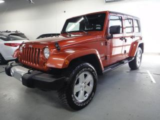 Used 2009 Jeep Wrangler Sahara in beautiful condition. for sale in North York, ON