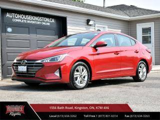 Used 2020 Hyundai Elantra Preferred BACK UP CAM - HEATED SEATS - APPLE & ANDROID AUTO for sale in Kingston, ON