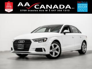 Used 2018 Audi A3 Komfort for sale in North York, ON