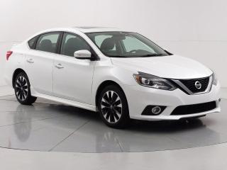 Used 2017 Nissan Sentra SR Turbo Nav, Bluetooth, Sunroof, Heated seats for sale in Winnipeg, MB
