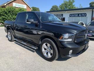 Used 2017 RAM 1500 SPORT CREW CAB SWB 4 for sale in Waterdown, ON
