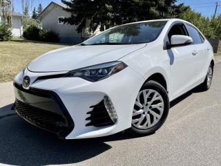 Used 2019 Toyota Corolla SE SEDAN AUTO WITH MANY OPTIONS! for sale in Calgary, AB