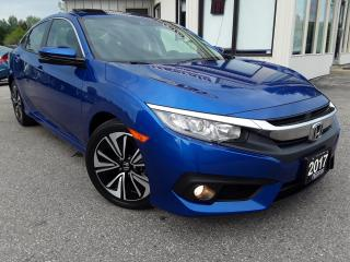 Used 2017 Honda Civic EX-T Sedan - BACK-UP/BLIND-SPOT CAM! SUNROOF! CAR PLAY! for sale in Kitchener, ON
