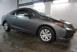 Used 2012 Honda Civic LX COUPE CERTIFIED 2YR WARRANTY *1OWNER*FREE ACCIDENT* BLUETOOTH CRUISE FOG LIGHTS for sale in Milton, ON
