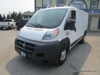 Used 2014 RAM 1500 ProMaster CARGO MOVING TRADESMEN-EDITION 2 PASSENGER 3.0L - ECO-DIESEL.. SHELVING AREAS.. SLIDING MIDDLE DOOR.. LOW-ROOF.. 136