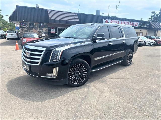 2018 Cadillac Escalade ESV 4WD LOW KM  FACTORY WARRANTY NAVIGTION