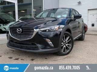 Used 2017 Mazda CX-3 GT - AWD, LEATHER, NAV, SUNROOF AND MUCH MORE! for sale in Edmonton, AB