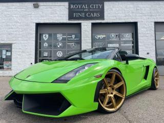 Used 2006 Lamborghini Gallardo SPYDER / CAPRISTO EXHAUST / LP560 FRONT BUMPER! for sale in Guelph, ON