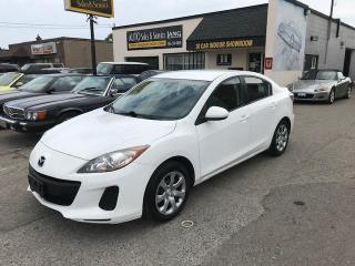 Used 2012 Mazda MAZDA3 GX AUTO NEW TIRES AND BRAKES ALL ROUND for sale in Etobicoke, ON
