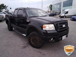Used 2008 Ford F-150 FX4   CLEAN CARFAX   LEATHER BUCKETS   SLIDING RR WINDOW   STEP BARS   for sale in Barrie, ON