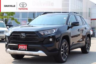 Used 2021 Toyota RAV4 Trail AWD Toyota Certified with Power Moonroof and Wireless Mobile Charger for sale in Oakville, ON