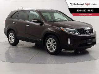 Used 2015 Kia Sorento EX w/Snrf   Locally Owned & Serviced   Sunroof   V6   AWD   Leather   Heated Steering   for sale in Winnipeg, MB