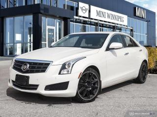 Used 2014 Cadillac ATS Luxury AWD Diamond White! New Rear Brakes! for sale in Winnipeg, MB