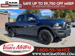New 2021 RAM 1500 Classic Warlock 4x4...V6*TOW*BACKUP CAM! for sale in Bancroft, ON