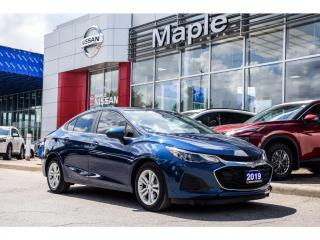 Used 2019 Chevrolet Cruze LT Apple Carplay Backup Camera Heated Seats for sale in Maple, ON