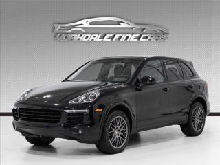 Used 2018 Porsche Cayenne Platinum Edition, Double Roof, Navi, Cam for sale in Concord, ON