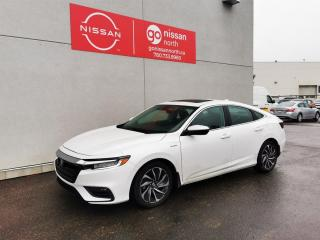 Used 2021 Honda Insight INSIGHT/HYBRID/SUNROOF/LEATHER/ALLOYS/DRIVER ASSIST/RARE!! for sale in Edmonton, AB