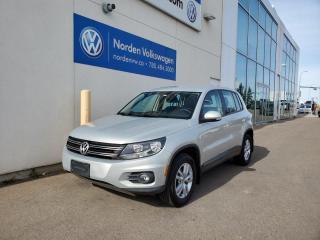 Used 2012 Volkswagen Tiguan TRENDLINE | 6SPD MANUAL | RARE BUILD for sale in Edmonton, AB