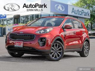 Used 2019 Kia Sportage EX AWD, LEATHER SEATING, HEATED SEATS AND STEERING WHEEL, BLUETOOTH, POWER DRIVERS SEAT for sale in Mississauga, ON