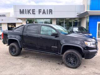 Used 2019 Chevrolet Colorado ZR2 Remote Keyless Entry, Remote Start, Auto Climate Control, Wireless Charging, Heated Front Seats for sale in Smiths Falls, ON