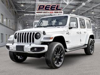 New 2021 Jeep Wrangler Unlimited Sahara High Altitude for sale in Mississauga, ON