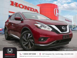 Used 2016 Nissan Murano BLUETOOTH | SATELLITE RADIO EQUIPPED for sale in Cambridge, ON