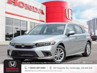 New 2022 Honda Civic EX APPLE CARPLAY™ & ANDROID AUTO™ | HONDA SENSING TECHNOLOGIES | REARVIEW CAMERA for sale in Cambridge, ON