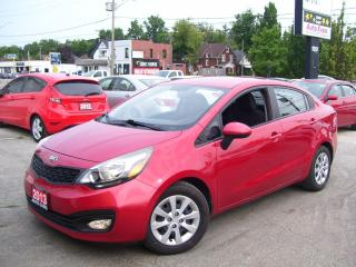 Used 2013 Kia Rio LX+,CERTIFIED,CLEAN CAR FAX,BLUETOOTH,FOG LIGHTS for sale in Kitchener, ON