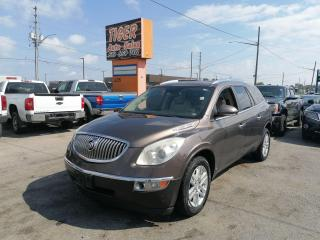 Used 2008 Buick Enclave CX*LEATHER*SUNROOF*ALLOYS*WELL MAINTAINED*AS IS for sale in London, ON