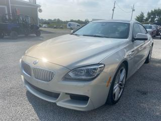 Used 2015 BMW 6 Series 650i xDrive for sale in Tilbury, ON