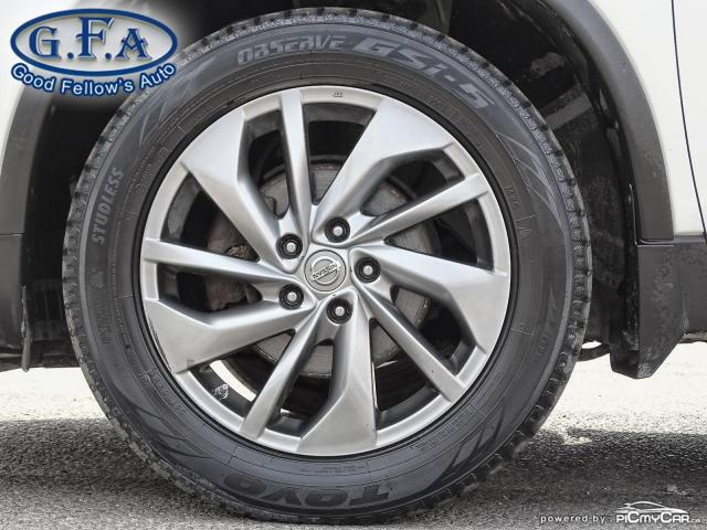 2015 Nissan Rogue SL AWD, LEATHER SEATS, PAN ROOF, 360° CAM, NAVI Photo7