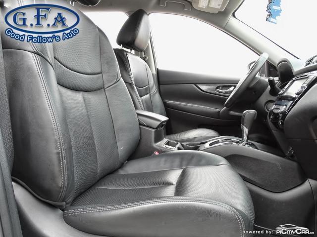 2015 Nissan Rogue SL AWD, LEATHER SEATS, PAN ROOF, 360° CAM, NAVI Photo12