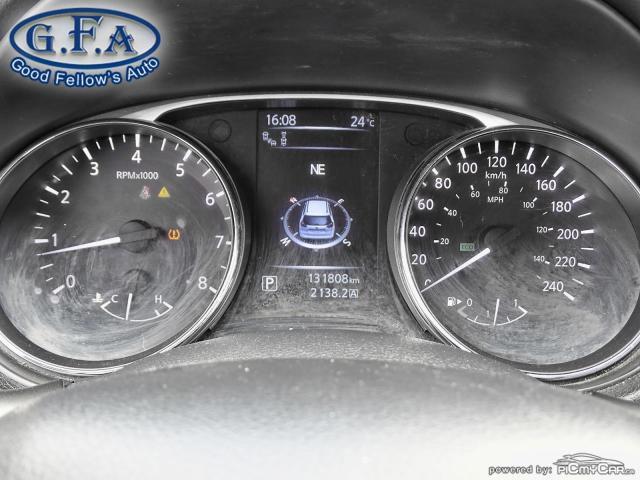 2015 Nissan Rogue SL AWD, LEATHER SEATS, PAN ROOF, 360° CAM, NAVI Photo17